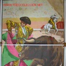 Carteles Toros: CARTEL DE TOROS. RUANO LLOPIS. Lote 13774896