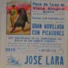 Carteles Toros: CARTEL PLAZA DE TOROS DE VISTA ALEGRE MADRID, 19 SEPTIEMBRE 1976. Lote 22062294