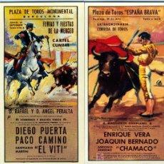 Carteles Toros: PLAZAS DE TOROS Nº 2 Y Nº 24. Lote 4756425
