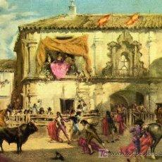 Carteles Toros: PEQUEÑO CARTEL DE TORO FERIA DE ABRIL 1971 (SEVILLA). Lote 20265884