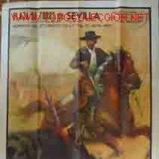 Carteles Toros: CARTEL PLAZA DE TOROS DE SEVILLA, FERIA DE ABRIL 1965. Lote 22074831
