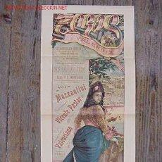 Carteles Toros: PRECIOSO CARTEL DE TOROS DE VALENCIA - AÑO 1903. Lote 26653597