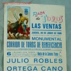 Carteles Toros: CARTEL TOROS MADRID. Lote 16116365