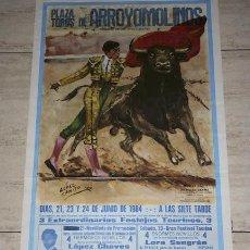 Carteles Toros: CARTEL DE TOROS DE ARROYOMOLINOS.. Lote 18586870