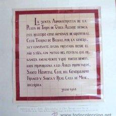 Affiches Tauromachie: CARTEL- FOTO. PLAZA DE TOROS VISTA ALEGRE-BILBAO. ENVIO GRATIS¡¡¡. Lote 16338867