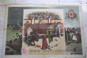 MADRID-MURCIA.: 1884. (Coleccionismo - Carteles Gran Formato - Carteles Toros)