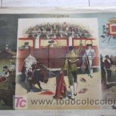 Carteles Toros: MADRID-MURCIA.: 1884.. Lote 11499150