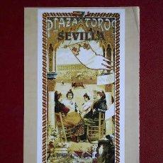 Carteles Toros: CARTEL DE TOROS DE SEVILLA. . Lote 10786520
