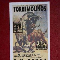 Carteles Toros: CARTEL DE TOROS DE TORREMOLINOS.. Lote 13701210