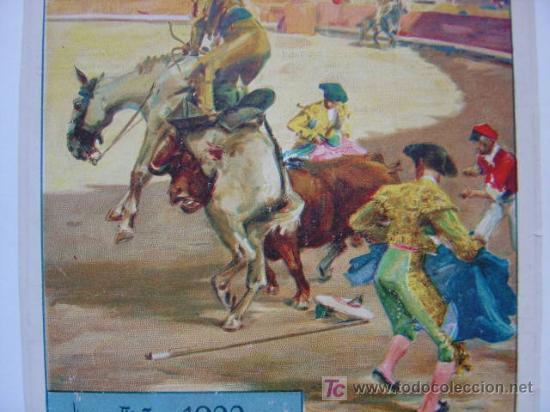 Carteles Toros: CARTEL TOROS - VALENCIA - JULIO DE 1922 - ILUSTRADOR: ROBERTO DOMINGO - Foto 3 - 22974664