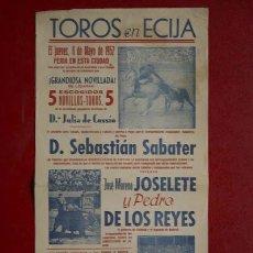 Cartazes Touros: CARTEL DE TOROS DE ÉCIJA.. Lote 11551779