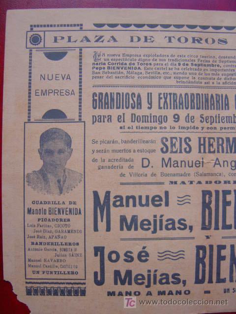 Carteles Toros: PROGRAMA-CARTEL TOROS - ZAMORA - ILUSTADOR: RUANO LLOPIS - AÑO 1934 - Foto 5 - 16439280