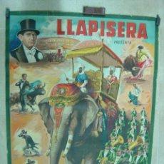 Carteles Toros: CARTEL TOROS - LLAPISERA - ILUSTRADOR: DONAT - AÑOS 1950-60 - SIN IMPRIMIR. Lote 32931505