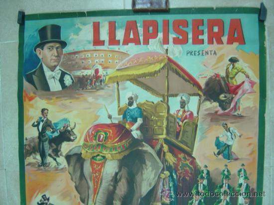 Carteles Toros: CARTEL TOROS - LLAPISERA - ILUSTRADOR: DONAT - AÑOS 1950-60 - SIN IMPRIMIR - Foto 2 - 32931505