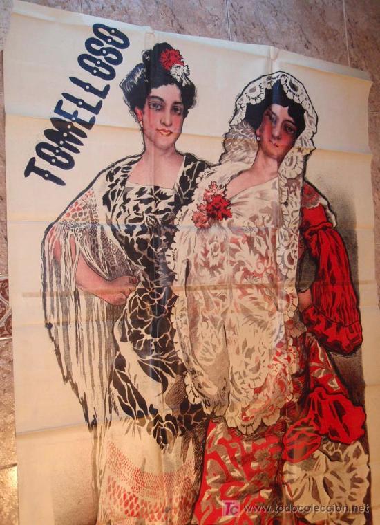 Carteles Toros: CARTEL TOROS TOMELLOSO , CIUDAD REAL , FERIAS Y FIESTAS, 1908 , ESPECTACULAR, ILUSTRADOR PERTEGAS - Foto 3 - 23506450