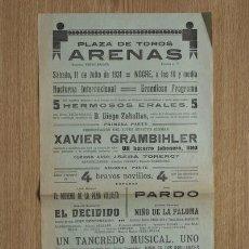 Carteles Toros: CARTEL DE TOROS DE BARCELONA.. Lote 25840718