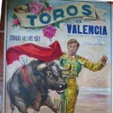 Carteles Toros: CARTEL PLAZA DE TOROS DE VALENCIA, GRANDIOSAS CORRIDAS FALLERAS 1992. RUANO LLOPIS C.. Lote 16974063