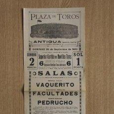 Carteles Toros: CARTEL DE TOROS DE BARCELONA.. Lote 25840721