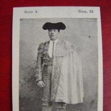 Carteles Toros: PROGRAMA-CROMO DE TOROS - VALENCIA - JULIO DE 1900 - TORERO: BONARILLO. Lote 23052438