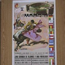 Carteles Toros: CARTEL DE TOROS DE MADRID. 1982.. Lote 13624159
