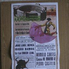Carteles Toros: CARTEL DE TOROS DE MADRID. 1984.. Lote 14939710