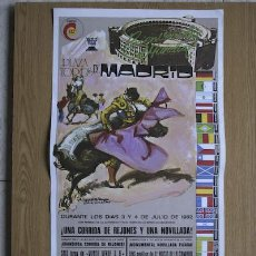 Carteles Toros: CARTEL DE TOROS DE MADRID. 1982.. Lote 14939741