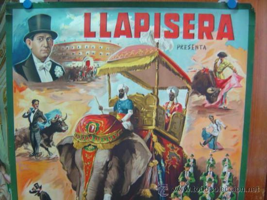 Carteles Toros: CARTEL TOROS - LLAPISERA - ILUSTRADOR: DONAT - AÑOS 1950-60 - SIN IMPRIMIR - Foto 2 - 137430265