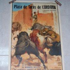 Carteles Toros: CARTEL PLAZA DE TOROS DE CORDOBA 1954 ORIGINAL. Lote 53348931