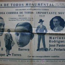 Carteles Toros: CARTEL DE TOROS DE BARCELONA. . Lote 22132980