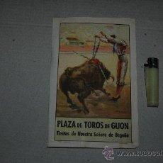 Carteles Toros: CARTEL PROGRAMA PLAZA DE TOROS DE GIJON AÑO 1958 VER FOTOS. Lote 23898009