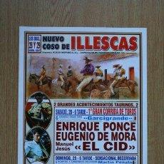 Carteles Toros: CARTEL DE DE TOROS DE ILLESCAS. 2007.. Lote 24361000