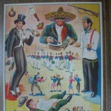 Carteles Toros: CARTEL DE TOROS - CUENCA - 25 DE JULIO DE 1947. Lote 24614232