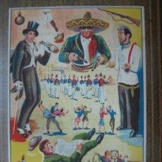 Carteles Toros: CARTEL DE TOROS - MOTILLA DE PALANCAR, CUENCA - 3 DE SEPTIEMBRE DE 1947. Lote 24614380