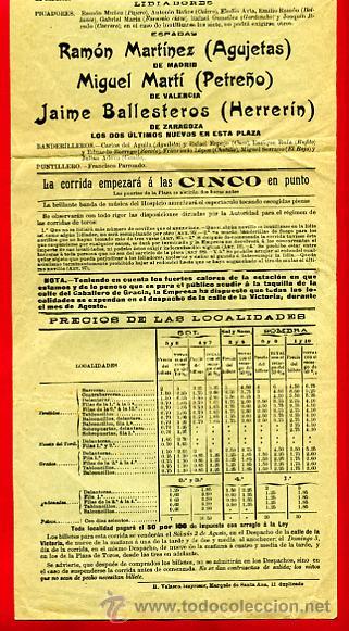 Carteles Toros: CARTEL TOROS , PLAZA DE MADRID 1913 , NOVILLADAS ,Q - Foto 2 - 180872320