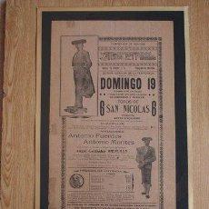 Carteles Toros: CARTEL DE TOROS DE MÉXICO. 1905. . Lote 26658379
