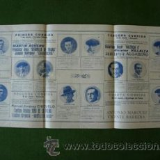 Carteles Toros: CARTEL PLAZA DE TOROS DE GRANADA 1928 CHICUELO , VALENCIA II , BELMONTE , BARRERA , ARMILLITA. Lote 26663237