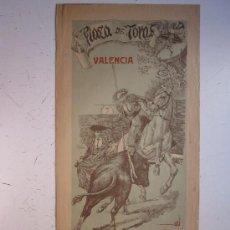 Carteles Toros: CARTEL TOROS - VALENCIA - JUNIO DE 1905. Lote 28327735