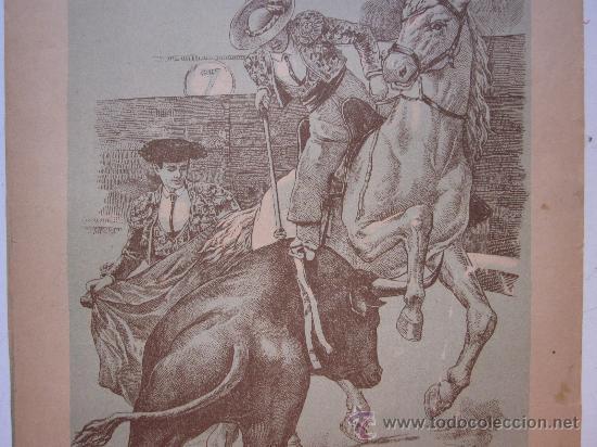 Carteles Toros: CARTEL TOROS - VALENCIA - JUNIO DE 1905 - Foto 3 - 28327735