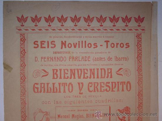 Carteles Toros: CARTEL TOROS - VALENCIA - JUNIO DE 1905 - Foto 6 - 28327735