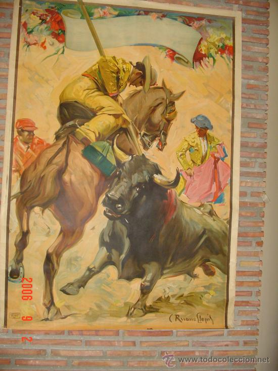 PICANDO AL TORO.020 (Coleccionismo - Carteles Gran Formato - Carteles Toros)