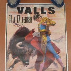 Affissi Tauromachia: CARTEL DE TOROS DE CARNAVAL DE 1988, DE VALLS.. Lote 30616964