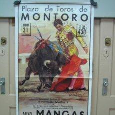 Carteles Toros: Nº103 CARTEL PLAZA DE TOROS DE MONTORO 54 X 103 CM. Lote 31217313