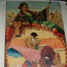 Carteles Toros: CARTEL TOROS DE VALENCIA AÑO 1926 ORIGINAL ILUSTRADO POR RUANO LLOPIS. Lote 32209060