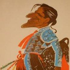 Carteles Toros: CARTEL JUAN BELMONTE GARCIA - TORERIAS Nº 6.1972.32X62. Lote 33027385