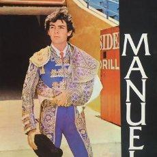 Carteles Toros: CARTEL MANUEL CAPETILLO. C. 1972. 43X61 CM.. Lote 33027733