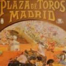 Carteles Toros: CARTEL PLAZA DE TOROS MADRID, SAN ISIDRO 92. 18X45 CM.. Lote 33032863