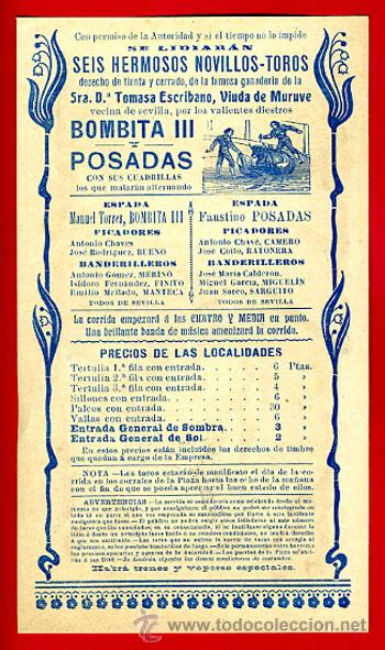 Carteles Toros: CARTEL , CARTELITO TOROS, FIGUERAS , GERONA , 1907 , LITOGRAFIA , ANTIGUO ,ORIGINAL - Foto 2 - 34268382