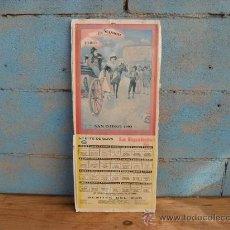 Carteles Toros: CARTEL TOROS SAN ISIDRO 1993 MADRID. Lote 35828269