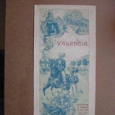 Carteles Toros: CARTEL DE TOROS PLAZA DE VALENCIA 14 DE JUNIO 1914 . Lote 36808586