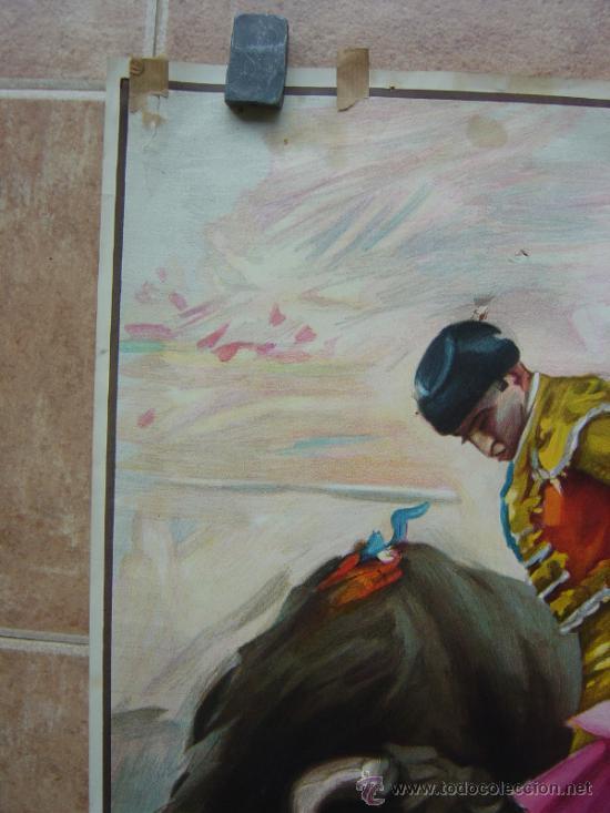 Carteles Toros: PLAZA DE TOROS DE PEÑALVER (GUADALAJARA) 1985 LITOGRAFIA- ILUSTRADOR: CROS ESTREMS - Foto 4 - 37757940